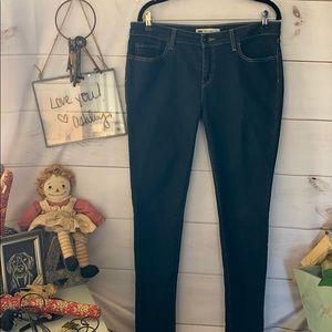 Levi's; 535 Legging Blue Jeans; Pants; 15M